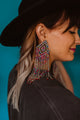 Coachella Queen Statement Earrings