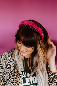 Dinner Party Queen in Burgundy** Headband