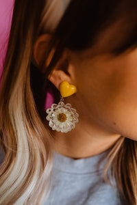 Daisy Magic Drop Earrings
