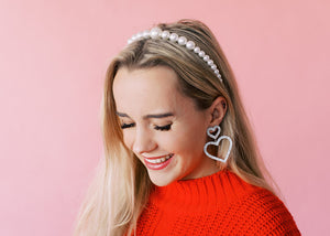 Girl with a Pearl Headband