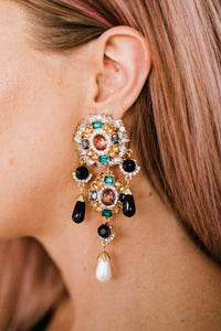 Swanky Chandelier Earrings
