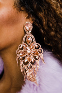 2020 QUEEN Drop Earrings **Peach