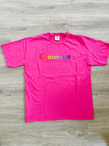 The Communi-tee -Embroidered