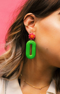 Radical Queen Drop Earrings