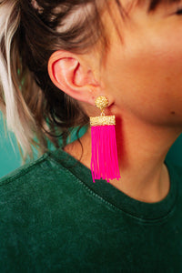 Girl Crush Fringe Earrings