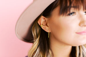 Effortless Edge Cuff Earring