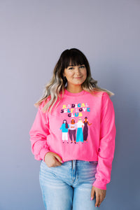 Radical Self Love Club Crew Neck Sweatshirt