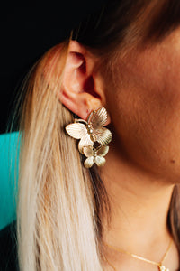 Butterfly Magic Statement Studs