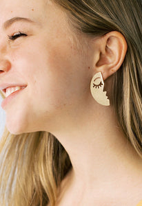 You are the Moon Statement Studs