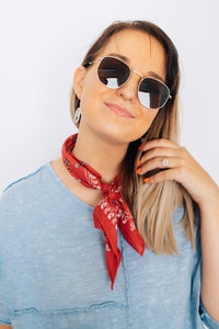 Autumn Rust Neckerchief