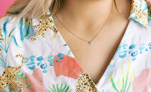 Classic Opal Necklace ** HYPOALLERGENIC