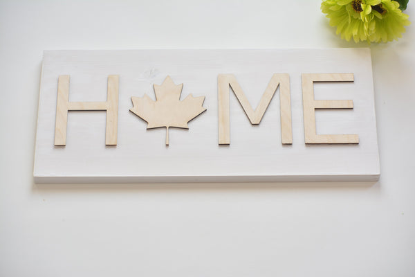 Proudly Canadian Wall Art