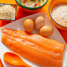 Load image into Gallery viewer, Cookie's Fishy Tails: Salmon and Free Range Eggs (100g)