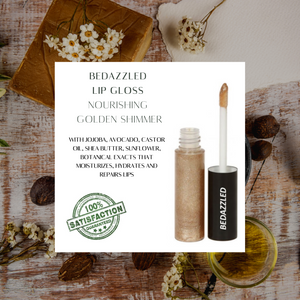 Organic Lip Gloss, All natural, Gluten Free, Vegan, Cruelty Free