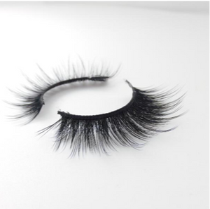 Raw Bar 3D Silk British Volume Eyelashes-Cruelty free-Black/Clear band