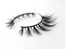 Load image into Gallery viewer, RawBar 3D  Silk Russian Volume Eyelashes-Cruelty free-Black/Clear band