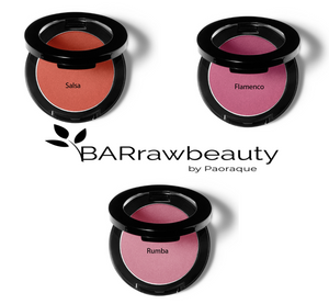 Raw Bar Blush - Natural - Paraben Free- Vitamins - Antioxidants