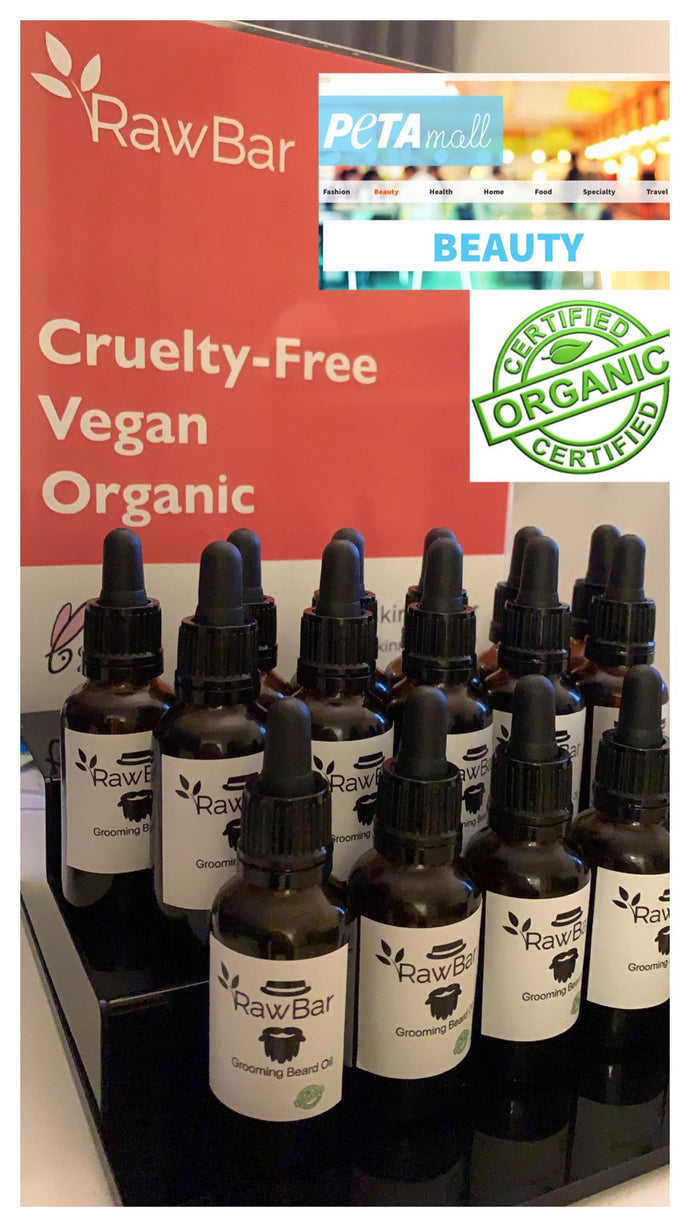Raw Beard Oil- All Natural - Organic-Gluten Free- Vegan - Cruelty Free