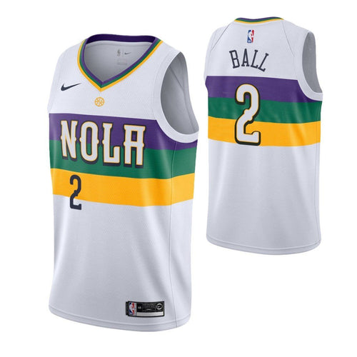 Lonzo City Jersey