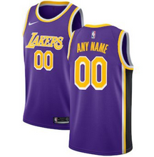 Load image into Gallery viewer, Custom Lakers Jersey