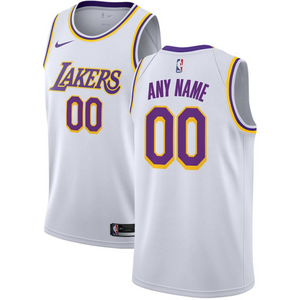Custom Lakers Jersey