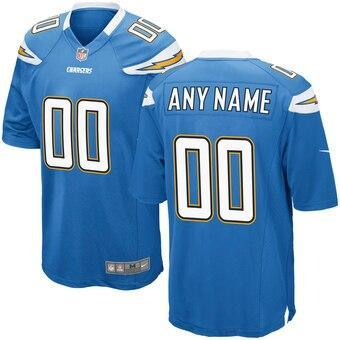 Custom Chargers Jersey