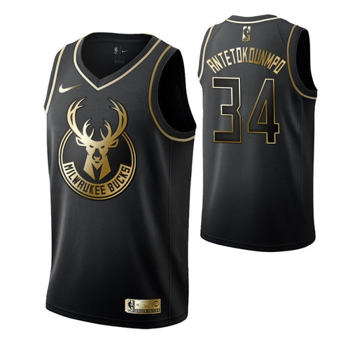 Giannis Gold Edition Jersey