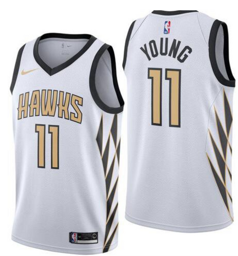 Trae Young City Jersey