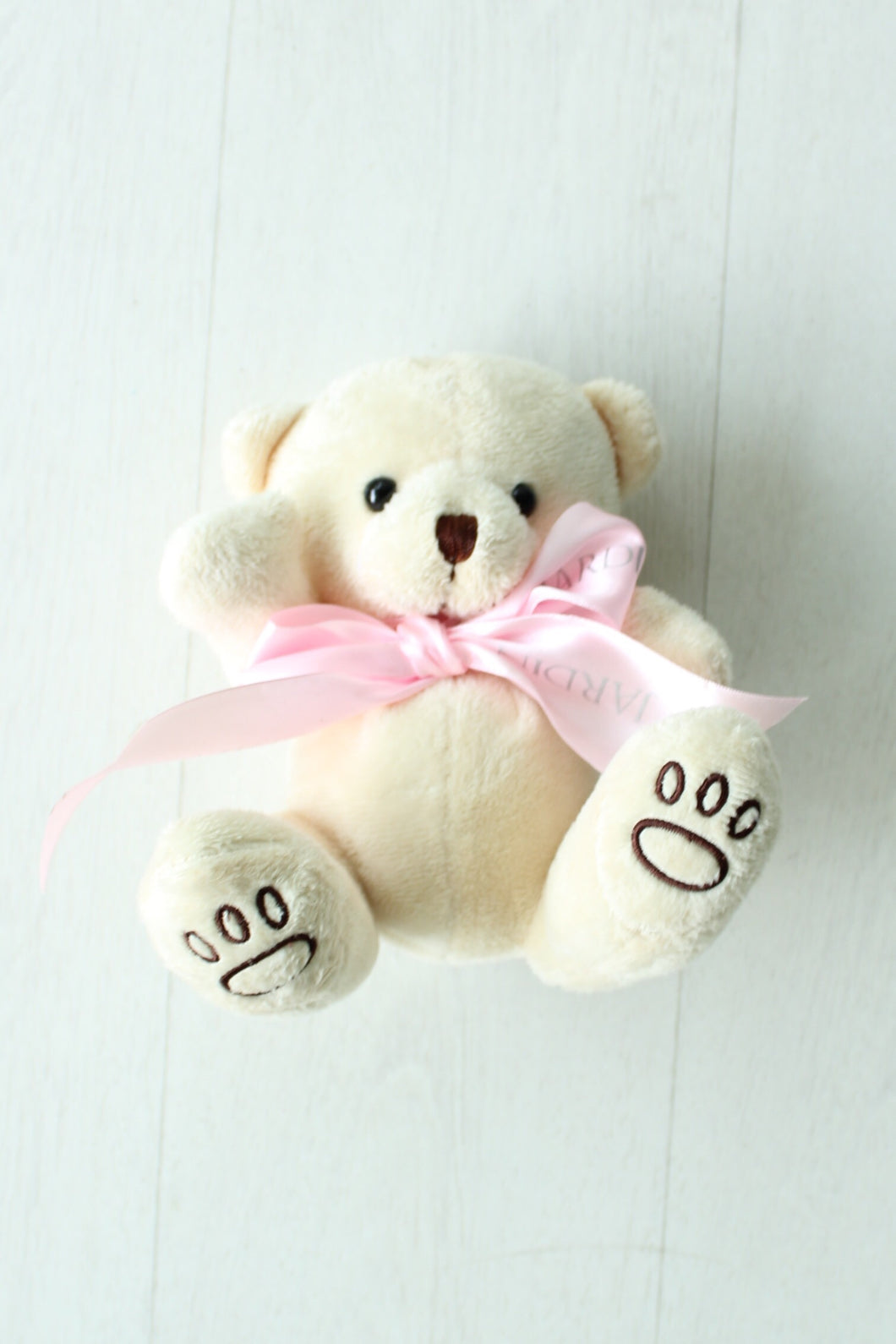 Teddy Bear with Pink Ribbon