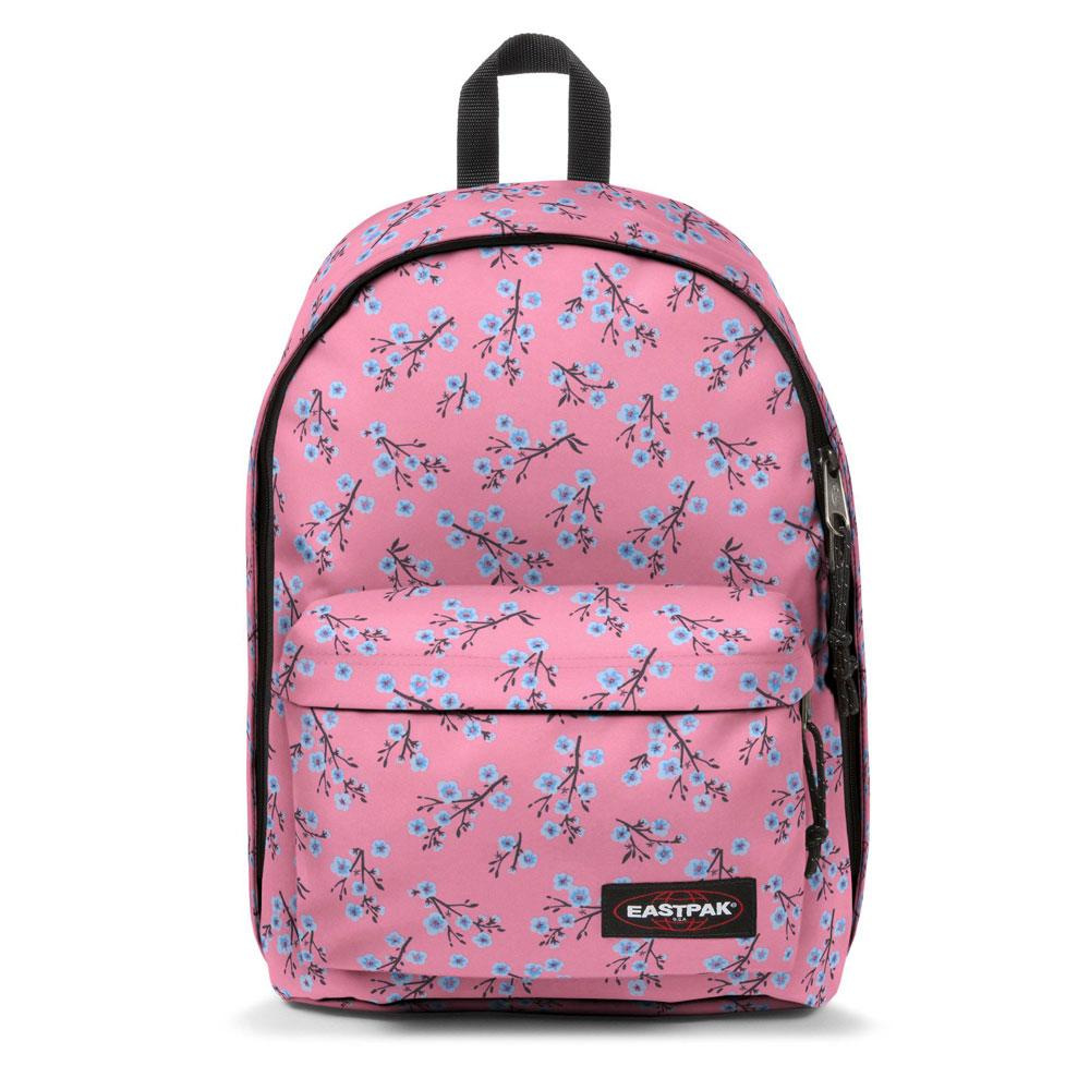 Eastpak Pink flowers out of office (Laptop) - Koffers en tassen Emco