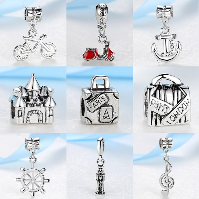 New charms for your bracelet, exclusive location charms such as Paris or Copenhagen now available