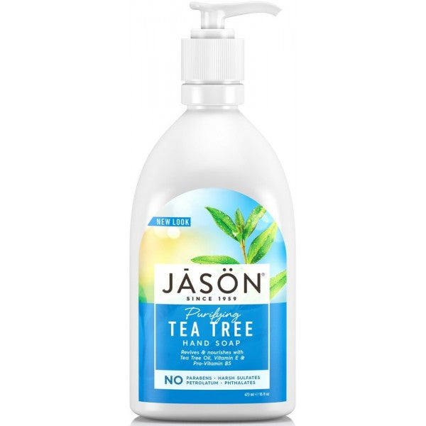 JASON Tea Tree Hand Soap- Purifying 473mll