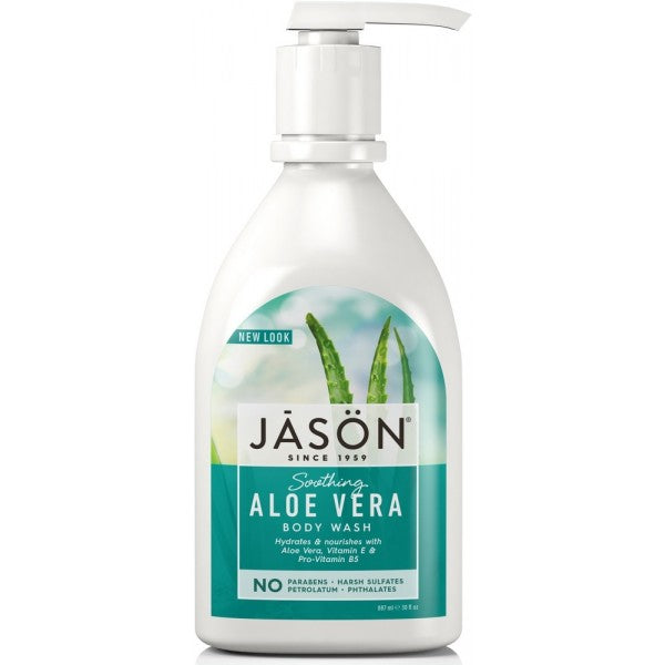 JASON Aloe Vera Body Wash-Soothing 887ml