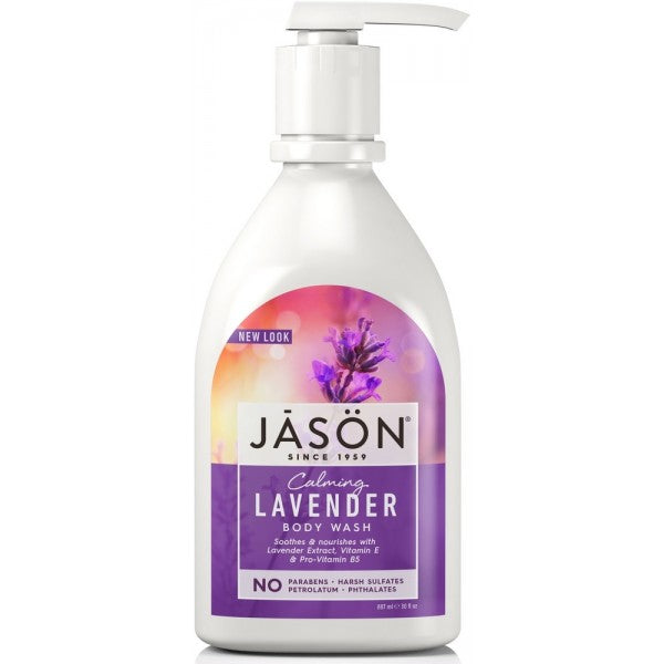 JASON Lavender Body Wash- Calming 887ml