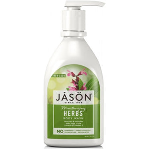 JASON Moisturizing Herbs Body Wash 887ml