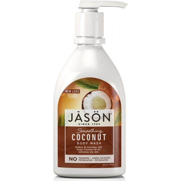 JASON Coconut Body Wash- Smoothing 887ml