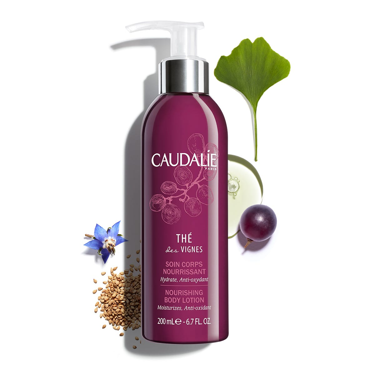 CAUDALIE The Des Vignes body nourishing body lotion 200ml