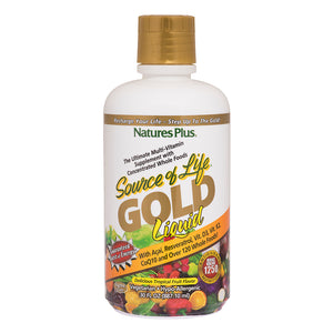 Natures plus gold liquid large 30 servings