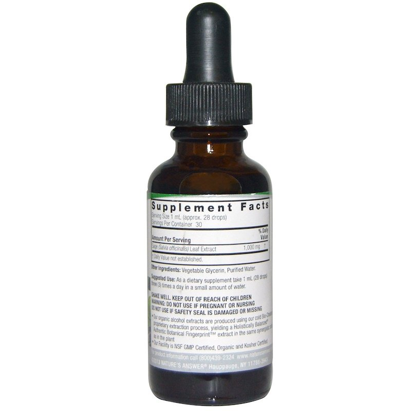 Natures Answer Sage 30ml