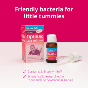 OPTIBAC Probiotics for your baby - Drops