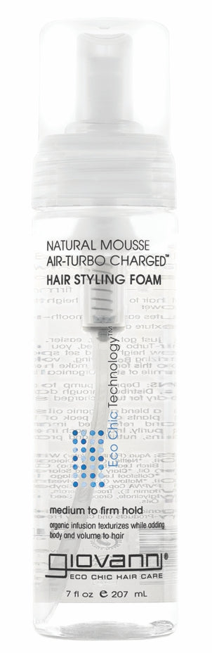 GIOVANNI Natural Mousse Hair Styling Foam 207ml