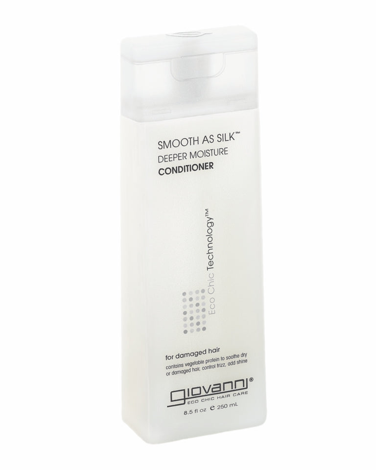 GIOVANNI Smooth As Silk Deep Moisture Conditioner 250ml
