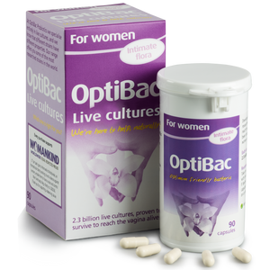 OPTIBAC probiotics For women 90 capsules