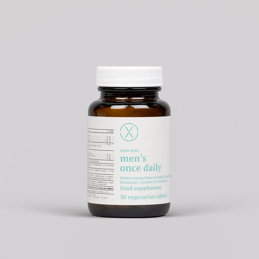 Elixir Men's Once Daily Veg Tabs
