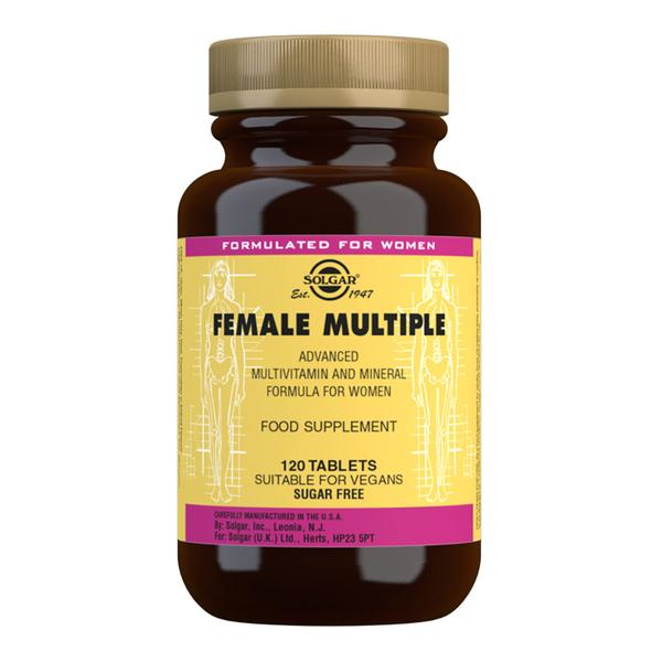 Solgar Female multiple 120 tablets