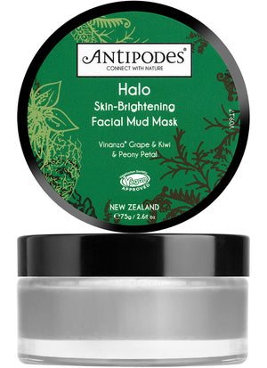 ANTIPODES Halo Facial Mud Mask  New 75g