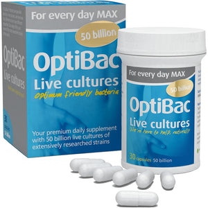 OPTIBAC probiotics For every day MAX 30 capsules