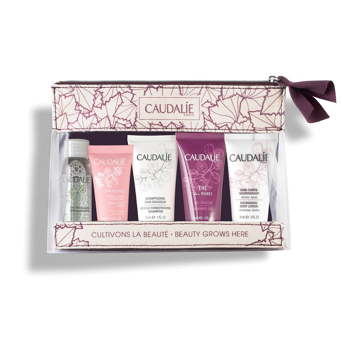 CAUDALIE Travel essentials kit /Beauty grows here gift