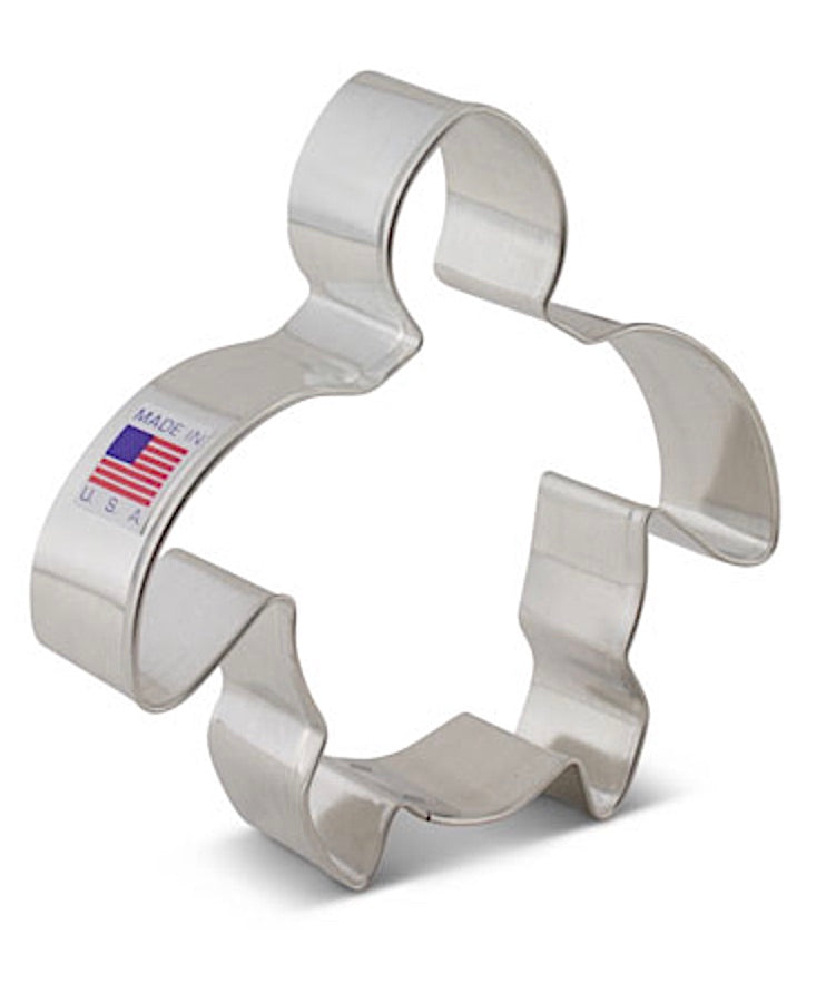 Cute Turtle Cookie Cutter by Ann Clark USA