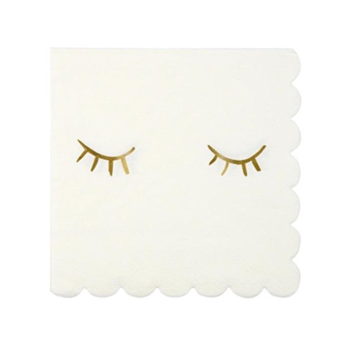 Blinky Eye Paper Party Napkins By Meri Meri